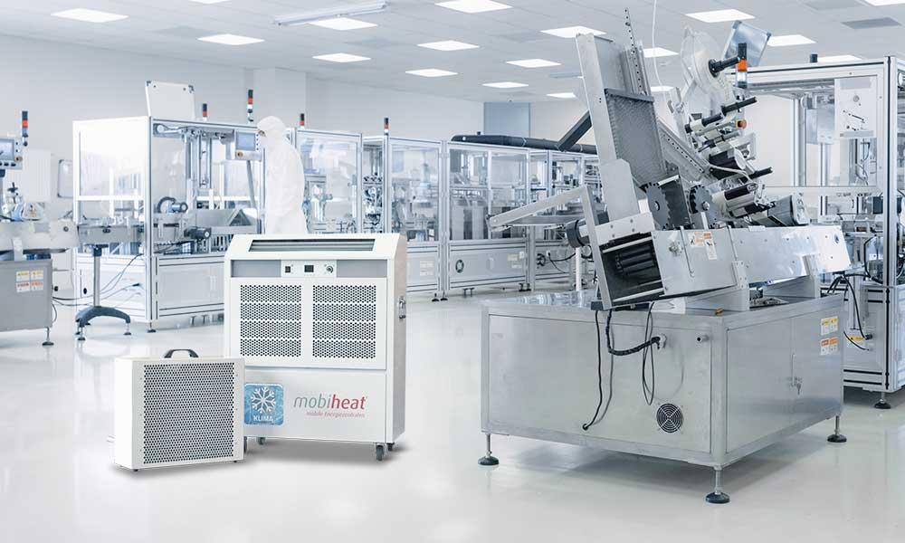 mobicool Split-Klimagerät MC7 im Einsatz in einem Labor